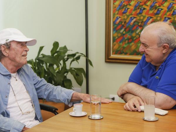 Midani: produtor foi recebido pelo prefeito Rafael Greca