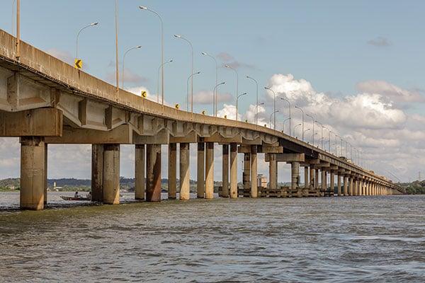 Ponte Ayrton Senna liga Paraná a Mato Grosso do Sul
