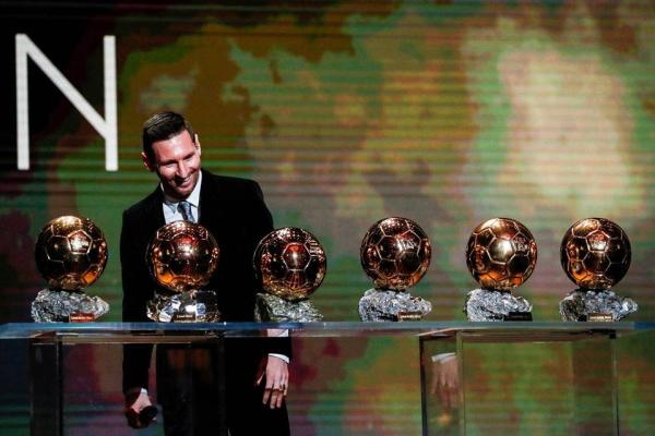 Messi: sexta bola de ouro