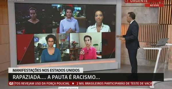 Em programa histórico na Globonews, Em Pauta feminino e negro foi produzido para debater o racismo na sociedade