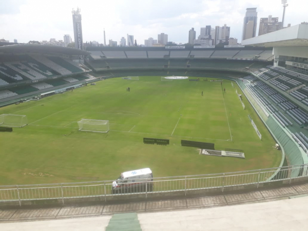 Couto Pereira vazio: sem torcida em 2020