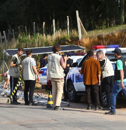 Filmagem de uma ação policial para um vídeo na internet: profissional tem um amplo campo de trabalho