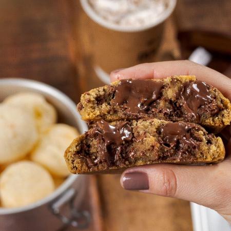 O maravilhoso Cookie com sorvete, da Cookieshop