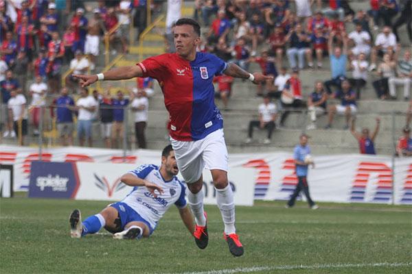 Andrey: autor de um dos gols