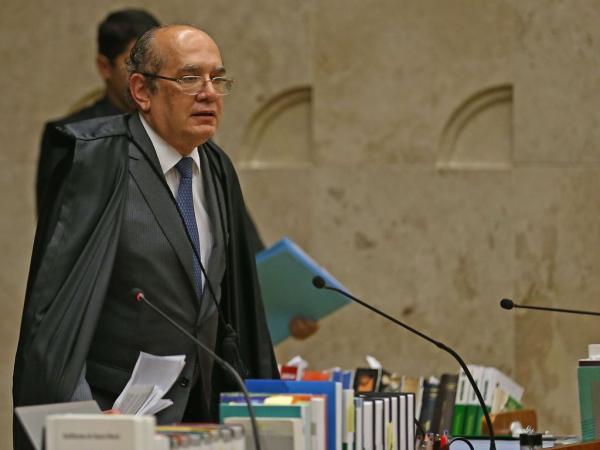 Mendes: ministro foi escolhido para relator recurso do MP por sorteio