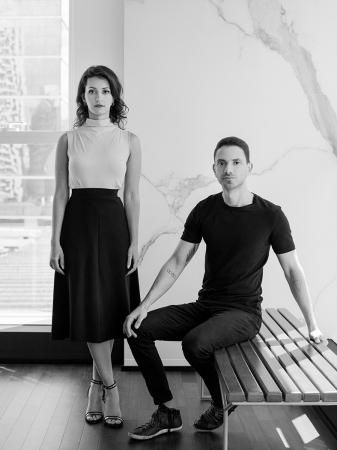 Os arquitetos Ana Carolina Boscardin e Edgard Corsi