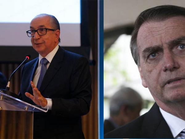 Marcos Cintra e Bolsonaro