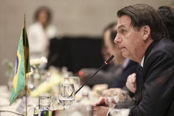 Bolsonaro comemorou o aumento na procura de viagens ao Brasil por parte de turistas da Austrália, Canadá, Estados Unidos e Japão