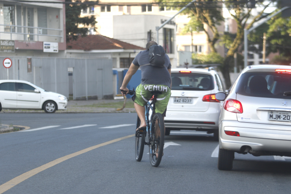 Ciclistas nas ruas: risco de acidentes e mortes no trânsito
