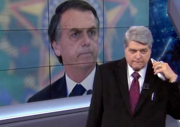 Bolsonaro e Datena