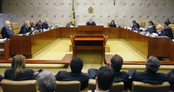 Plenário do STF: decisão apertada
