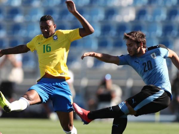 Brasil x Uruguai no Sul-Americano Sub-20