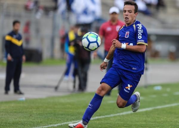 Andrey: três gols com a camisa do Paraná Clube