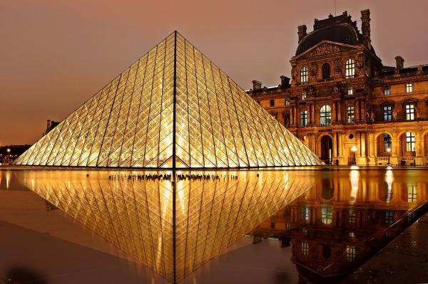 Museu do Louvre, em Paris.