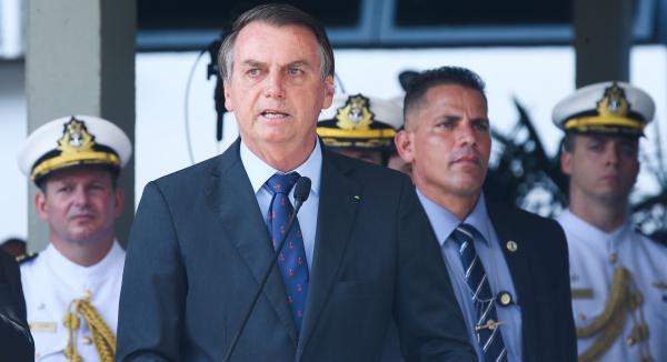 """Bolsonaro: """"Eu quero liberdade de imprensa. Ninguém mais do que eu sou atacado na internet"""""""