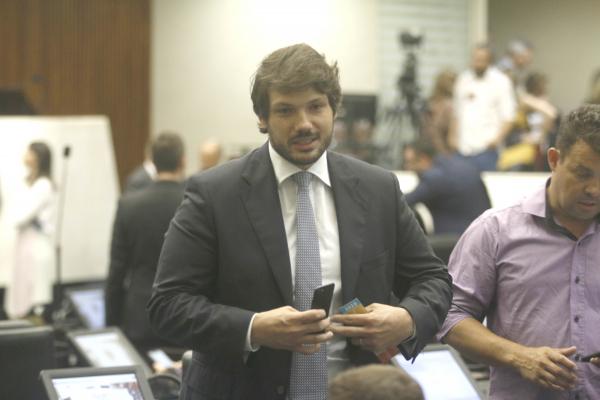Tiago Amaral: autor da emenda