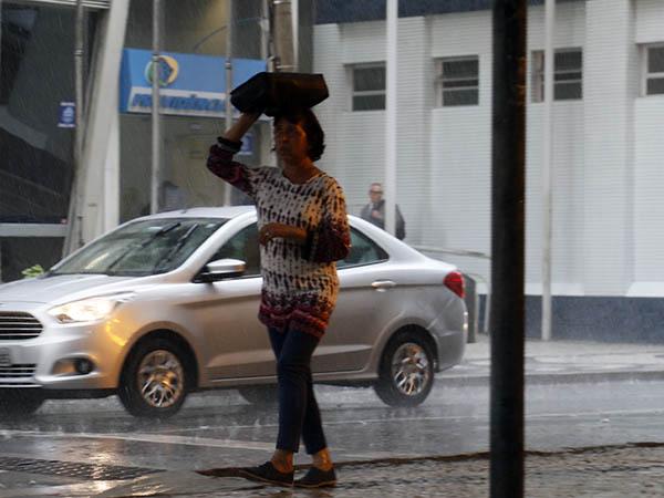 Chuva em Curitiba