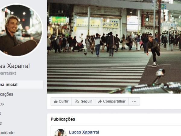 O paranaense Lucas Xaparral