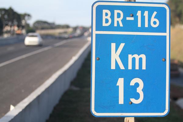 Trecho da BR-116: campeã de pontos críticos