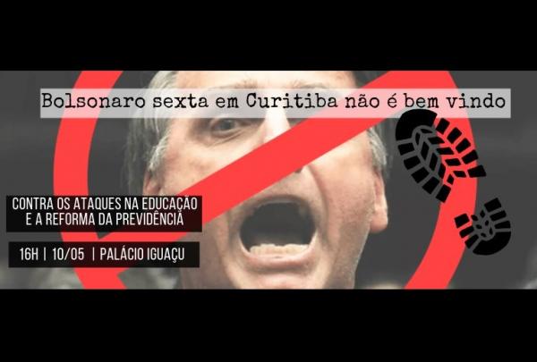 Protesto contra Bolsonaro convocado pelo Facebook
