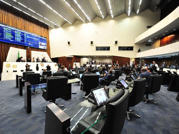 Assembleia: votação é 1º teste da base do governo no Legislativo