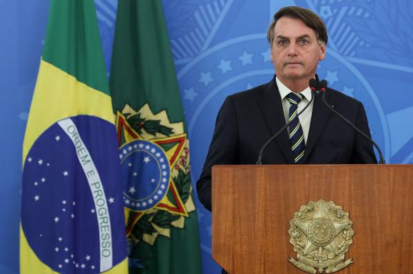 Bolsonaro: resposta foi dada ao ser perguntado se tem intenção de golpe de Estado