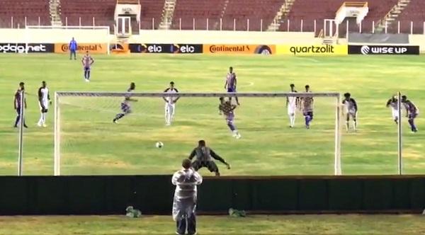 Itabaiana 2 x 5 Paraná Clube: estádio quase vazio em Aracaju
