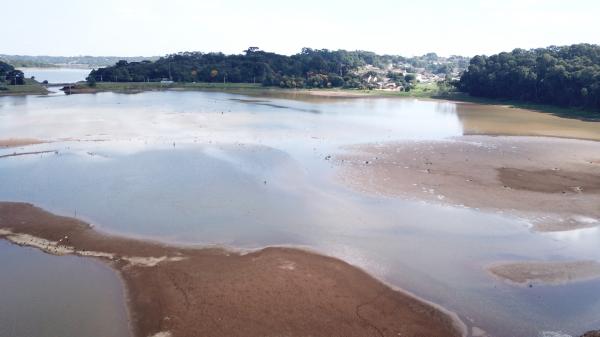 Barragem do Passaúna com nível baixo já no início de março