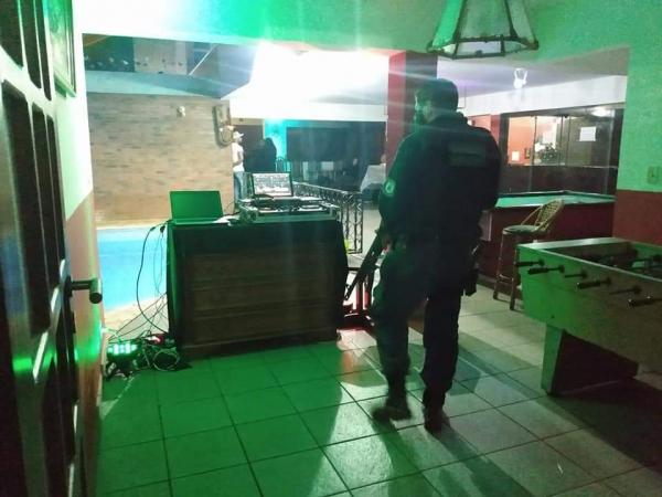 Guarda interrompeu 'rave' com a participação de aproximadamente 30 pessoas