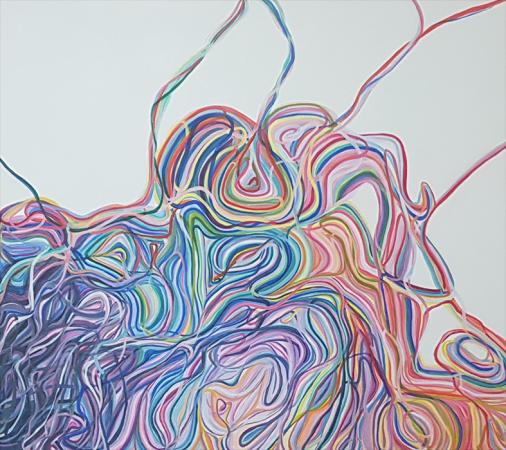 Obra da Maria Celina Nollis Sem título, 2018. Disponível na Zuleika Bisacchi Galeria de Arte