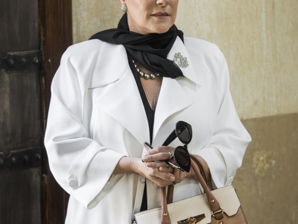 """Segura ela – Em """"O Sétimo Guardião"""", Mirtes (Elizabeth Savala), continua a mesma: não perde a oportunidade de infernizar a vida da nora, Stella (Vanessa Giácomo), e do ex-genro, João Inácio (Paulo Vilhena)"""