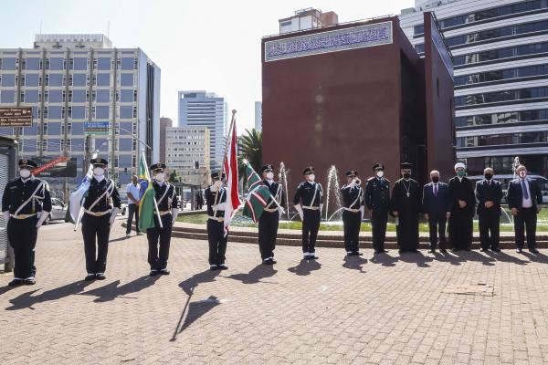 Solenidade reuniu autoridades diplomáticas e religiosas no Memorial Árabe