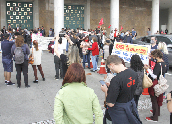 APP-Sindicato: vigília no Palácio