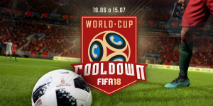 Cooldown realiza Copa do Mundo do jogo Fifa 2018