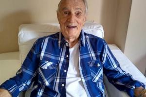 Aos 101 anos, Orlando Drummond completa 20 dias de internação hospitalar