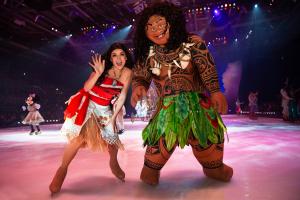 O mundo mágico de 'Disney on Ice em Busca dos Sonhos'