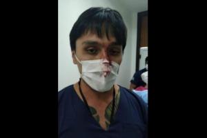 Polícia autua paciente com suspeita de coronavírus que agrediu médico