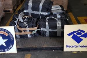 Receita Federal apreende 219 quilos de cocaína no Porto de Paranaguá