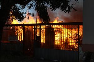 A cada duas horas, uma edificação pega fogo no Paraná