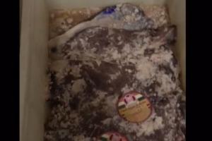 Polícia apreende 160 quilos de alimentos impróprios para o consumo em Curitiba. Veja vídeo
