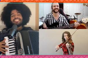 Orquestra à Base de Corda e Mestrinho se unem em arraial virtual
