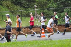 Etapa de corrida de rua acontece dentro do Zoo de Curitiba