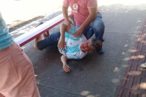 Deputado é agredido a socos por vereador em Londrina. Veja as imagens