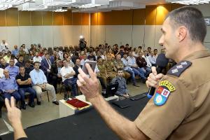 Governo do Estado quer inteligência e tecnologia para otimizar força  policial 554be0a02cc0e