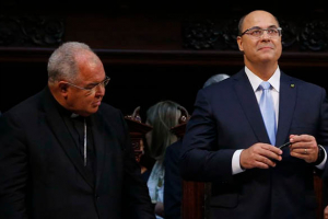 Ex-juiz federal, Wilson Witzel é empossado governador do Rio