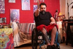 Ex-baterista do Rappa, Marcelo Yuka, é velado Rio