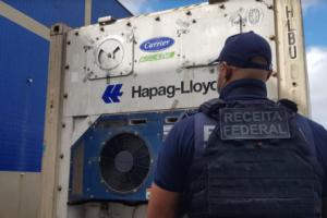 Inédito: em um só dia, Receita apreende três carregamentos de cocaína no Porto de Paranaguá