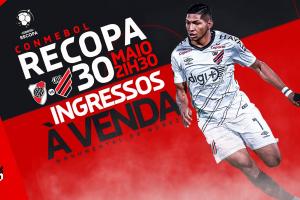 Torcida do River Plate esgota ingressos para duelo contra o Athletico Paranaense