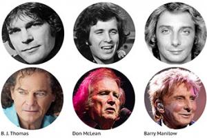 Neil Diamond, Don McLean, Barry Manilow e outros: para eles, a música não morreu