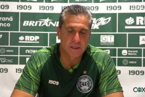 Após reunião, Coritiba demite o técnico Jorginho